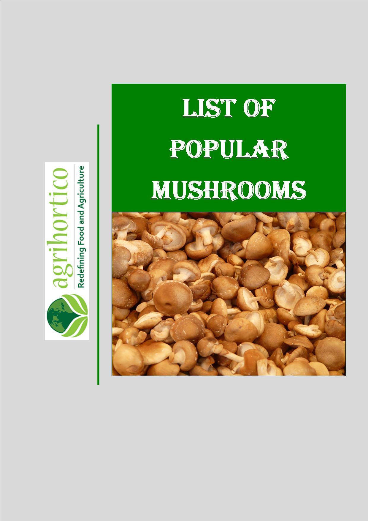 list-of-mushrooms