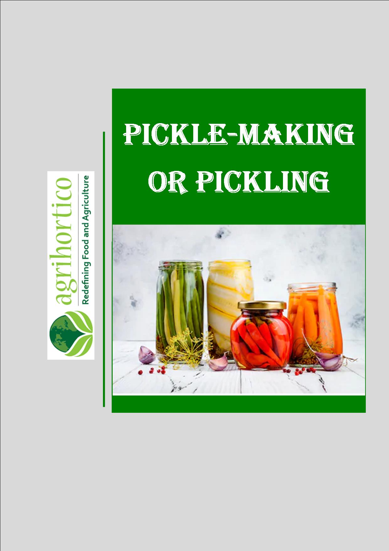 pickle-making